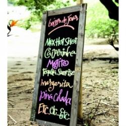 Только по воде пишут вилами - для всего остального есть маркеры edding!!.